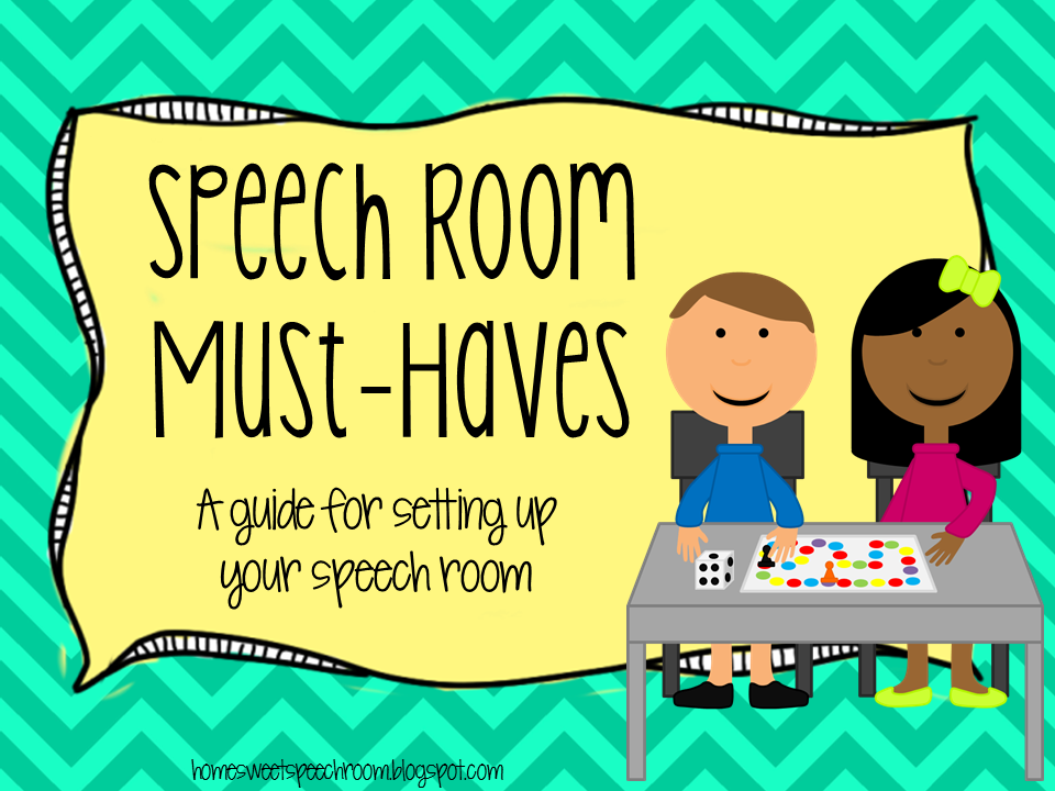 Speech Language Classroom Decorations ~ Speech room must haves a guide for setting up your