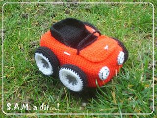AM. a dit fais une voiture décapotable!
