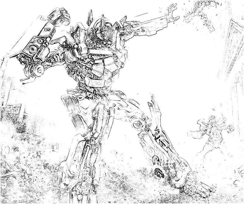 transformer gears coloring pages - photo#31