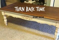 Turn Back Time Home Decor