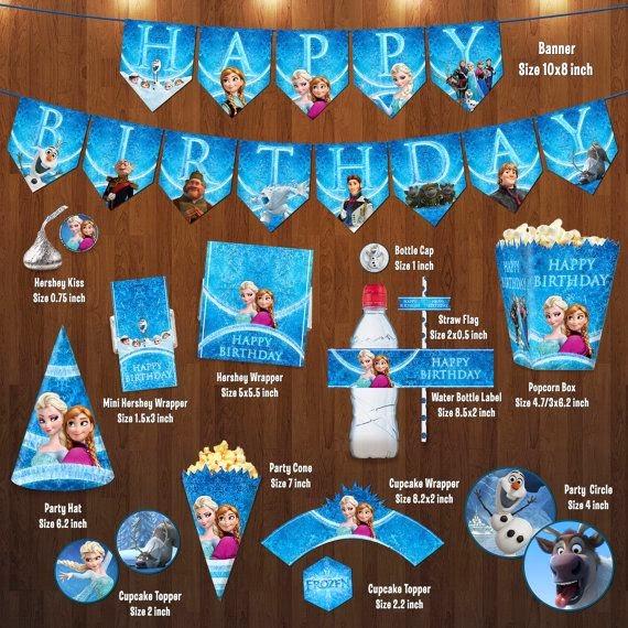 Ideas para Fiesta de Cumpleaños de Frozen