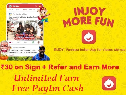 INJOY Sign Up and Get 30