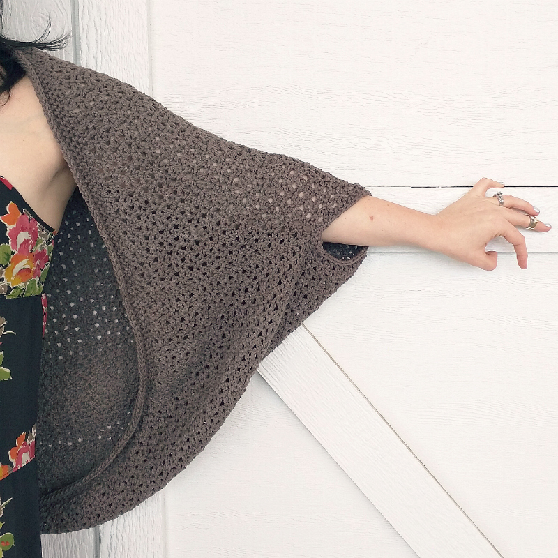 Domestic Bliss Squared: the cozy cocoon cardigan, a free ...