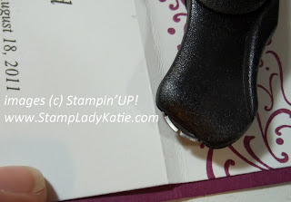 Stampin'UP! cutter tool for making a perforated edge