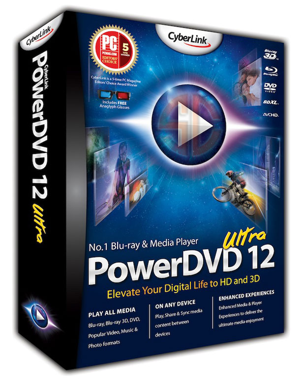 CyberLink PowerDVD Ultra 12.0.1312.54 With Crack