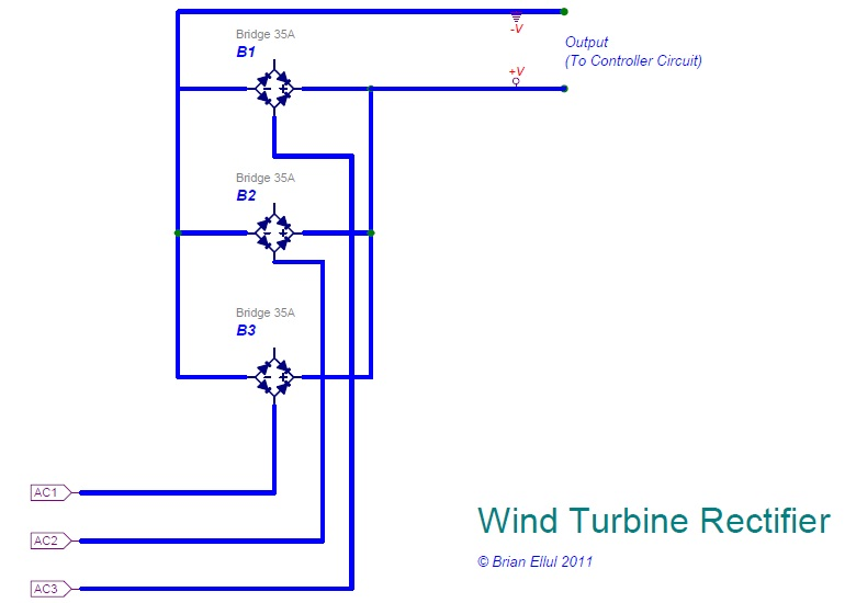 WindTurbine_Rectifier air x new controller brian ellul blog wind turbine charge controller wiring diagram at fashall.co