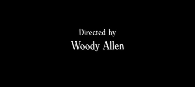 Woody allen s filmography title cards