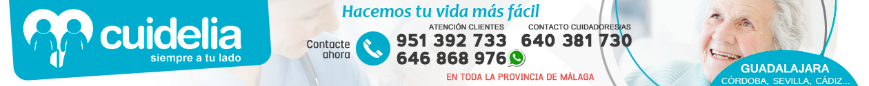 CUIDELIA · 646 868 976 · Cuidado de mayores en Guadalajara