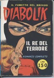 Uno dei primi numeri di Diabolik