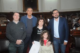 Personalidad Destacada de la Educación Concejo Deliberante, La Plata.