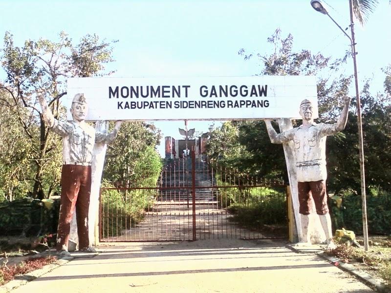 monumen ganggawa sidrap