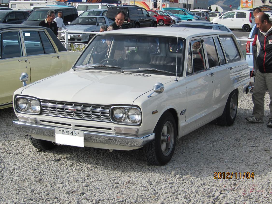 Nissan Skyline C10 Wagon, kombi, rodzinny, klasyczny samochód, oldschool