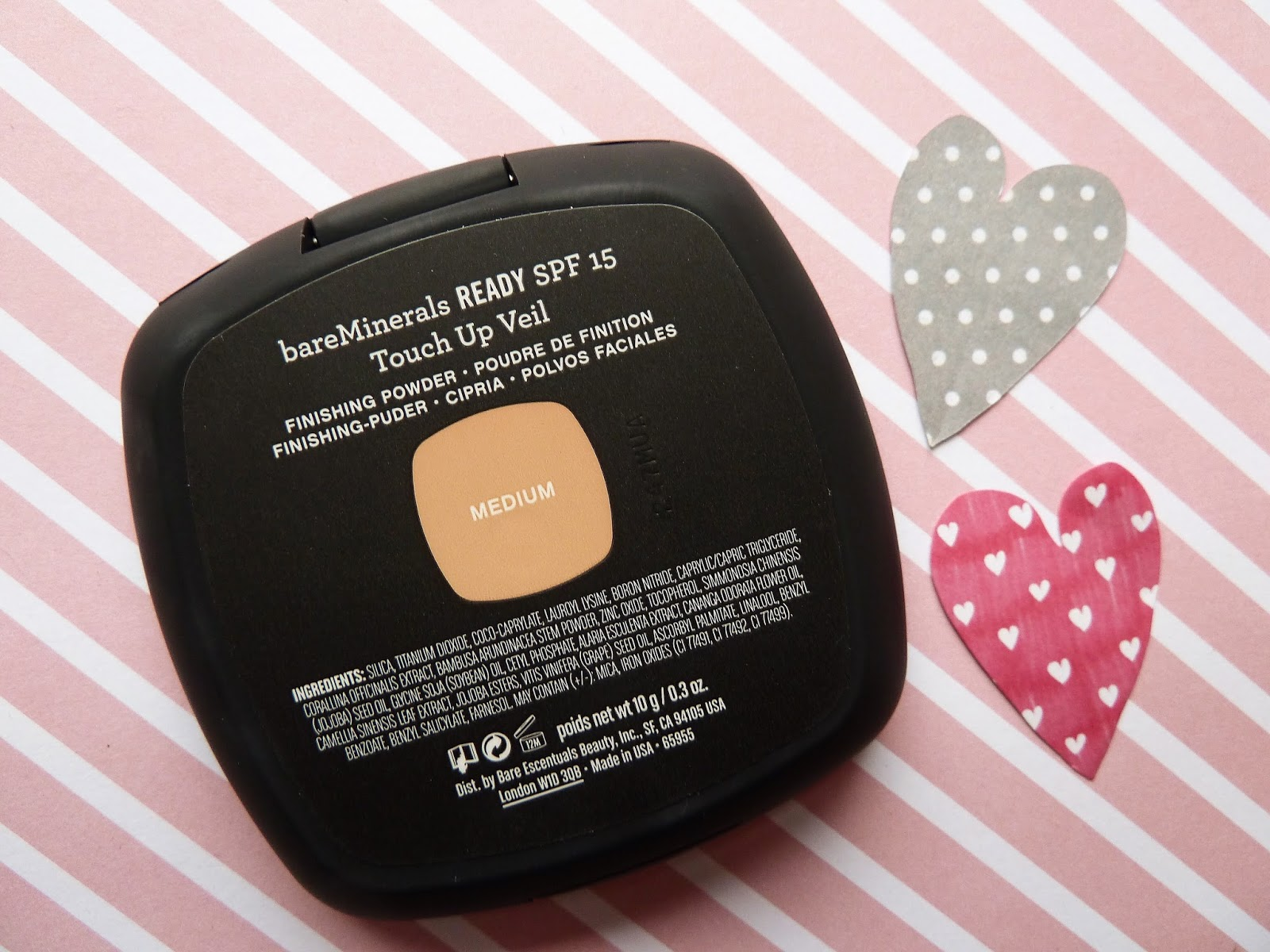 bareminerals touch up veil medium