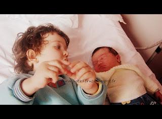 juste truc fratrie bébé naissance grand frère bb koala amour famille enfants maman maternité grossesse