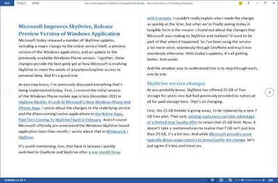 Microsoft Office 2013 Dilengkapi Fitur Edit PDF