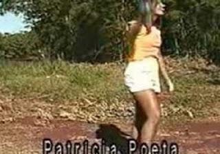 Vídeo Patricia Poeta antes da fama