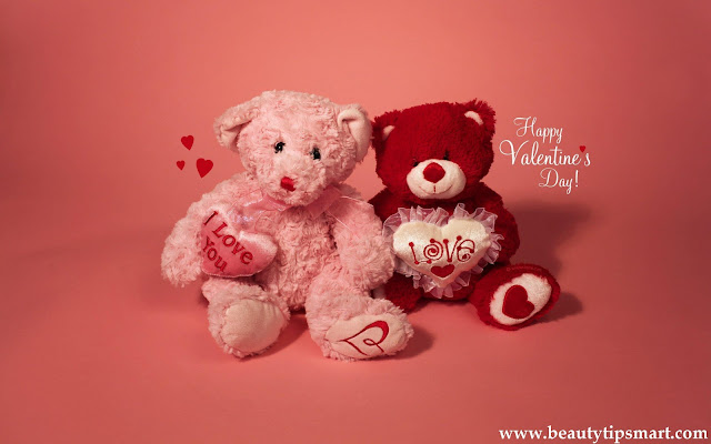 bear love wallpaper, lovely valentine bear