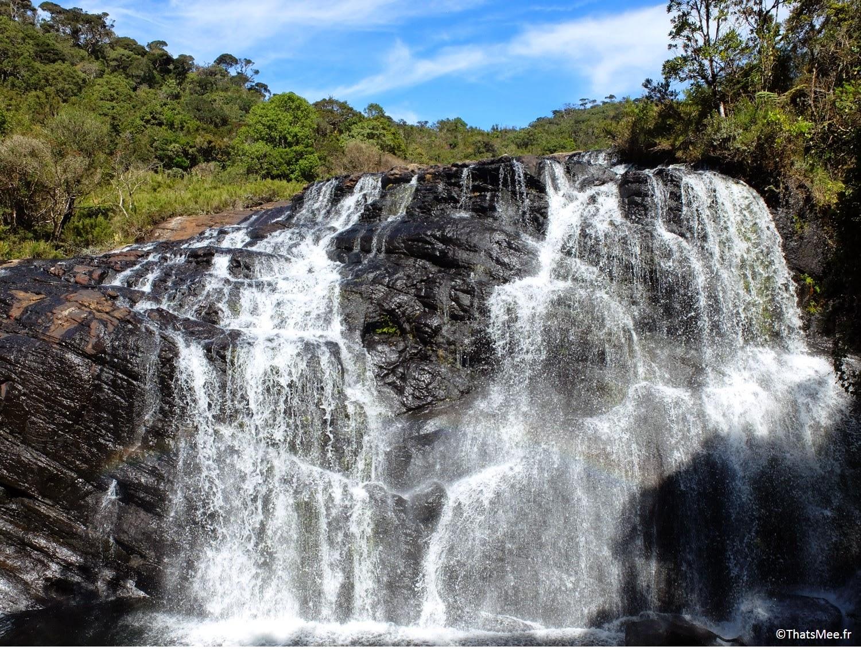 Cascade Horton Plains Sri-Lanka parc naturel