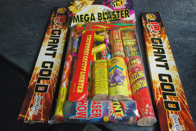 image of box of fireworks