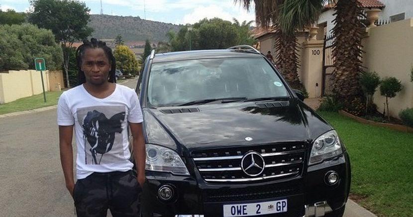 Siphiwe Tshabalala Car Is A Benz C63 Amg Idiski Soccer