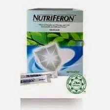 Nutriferon dapat meningkatkan sistem imun dalam badan kita supaya sentiasa sihat