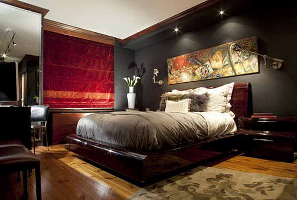 masculine bedroom design ideas
