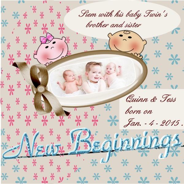 Feb. 2016 – New Beginnings