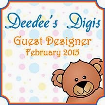 I was invited to be guest designer for February