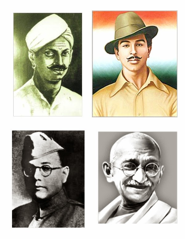 Freedom Fighters Indian Independence Day 2014 Wallpapers