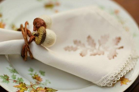 acorn napking ring