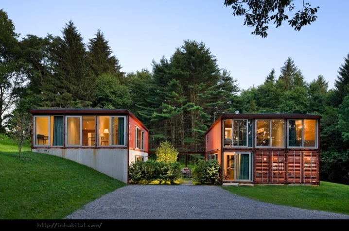 Ren e finberg 39 tells all 39 in her blog of her adventures in design container homes thinking - Container home blog ...