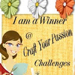 Winner in Craft Your Passion Challenges