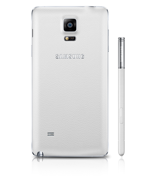 Body tampak belakang Galaxy Note 4