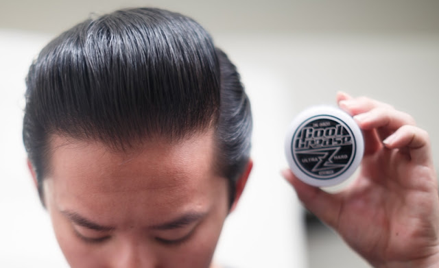 Review Cool Grease Z Is A Water Based Ultra Hard Holding Pomade