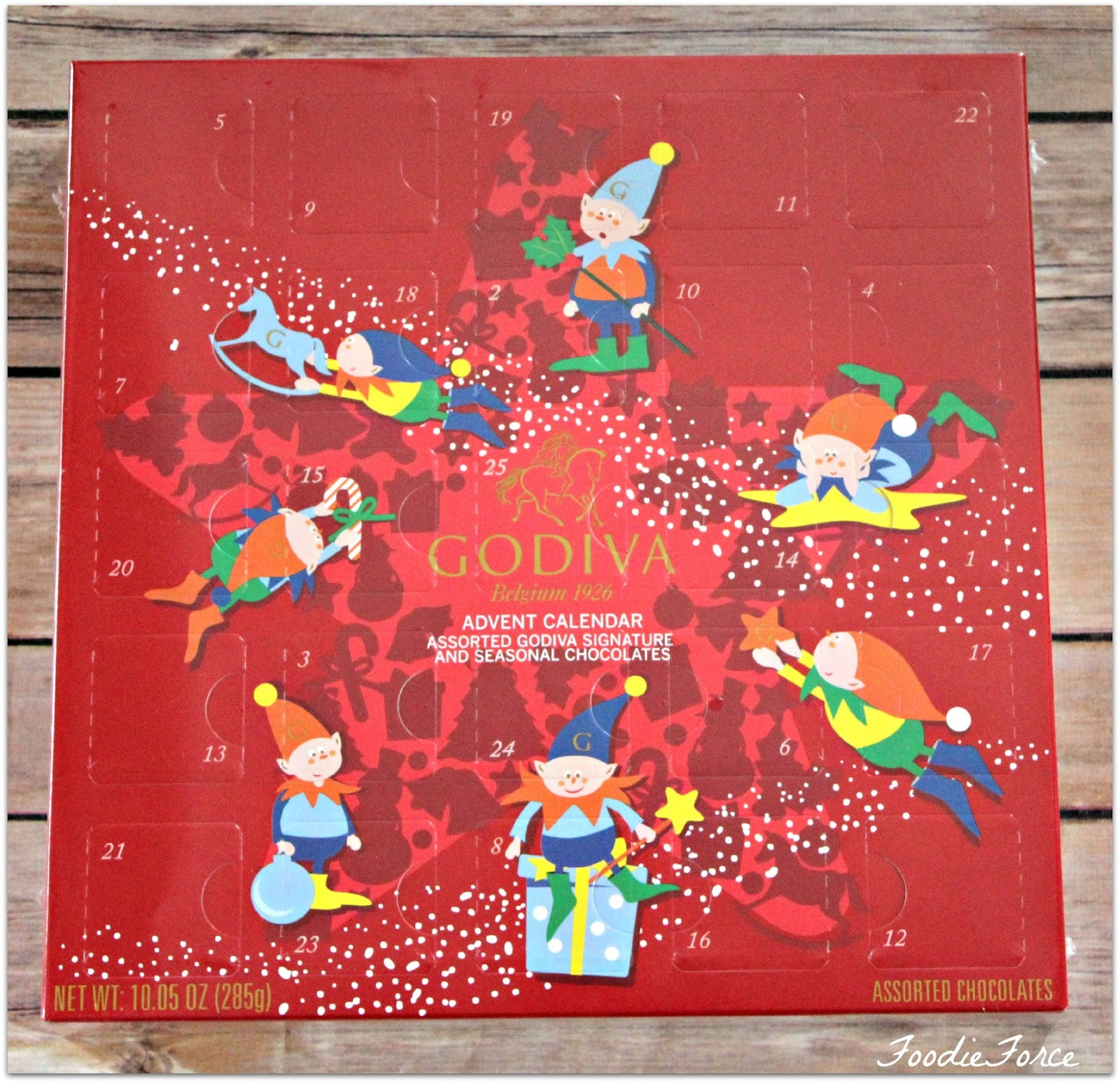 Foodie Force Top Christmas Advent Calendars 2015