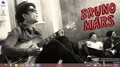 Bruno Mars Windows 7 Theme