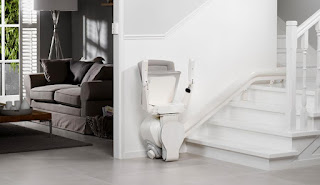 Stairlift seat