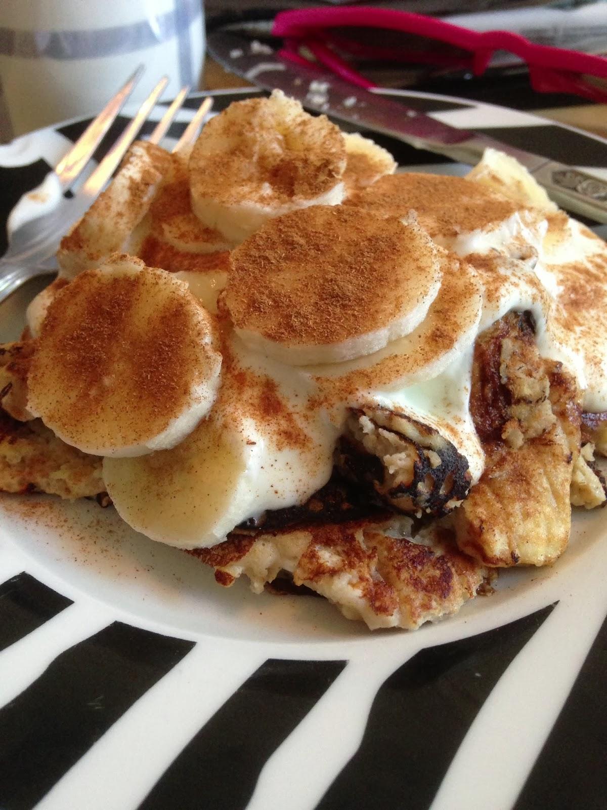 Healthy protein banana pancakes pancake day