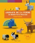 Animaux de la ferme en papier
