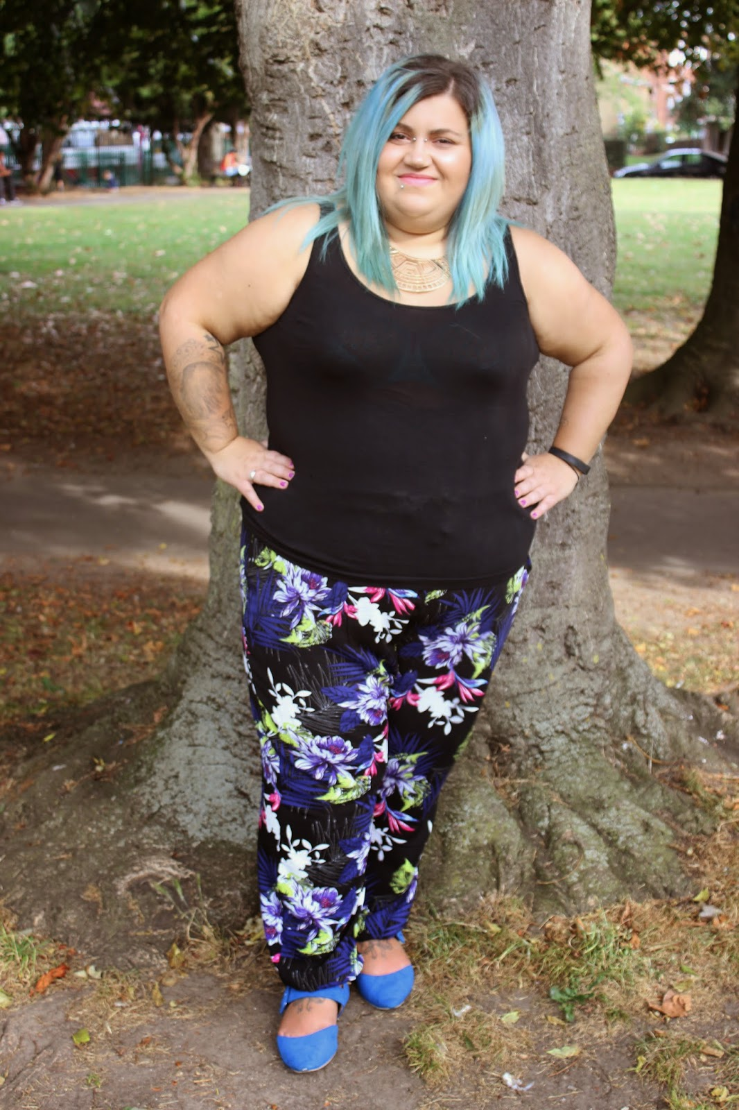 plus size, fashion, harem pants, yours clothing, fatbeautyx