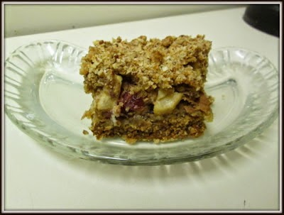 Apple-Cranberry Bars