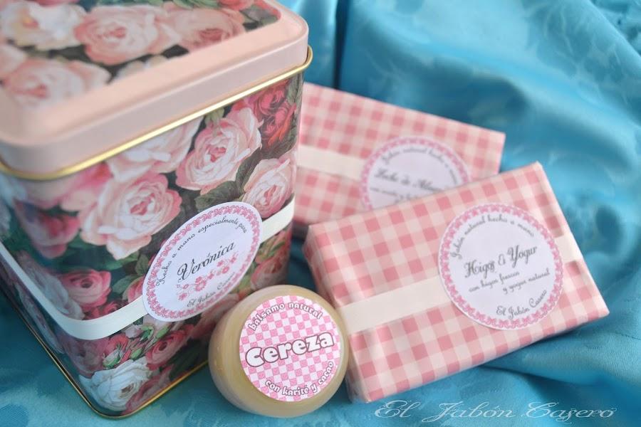 jabones caseros y balsamos regalos personalizados