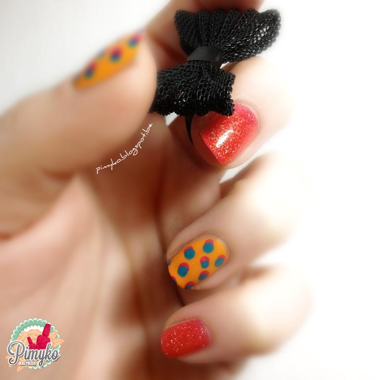 pimyko-nailart-retro-dots-popart-nail-nailpolish-tuto