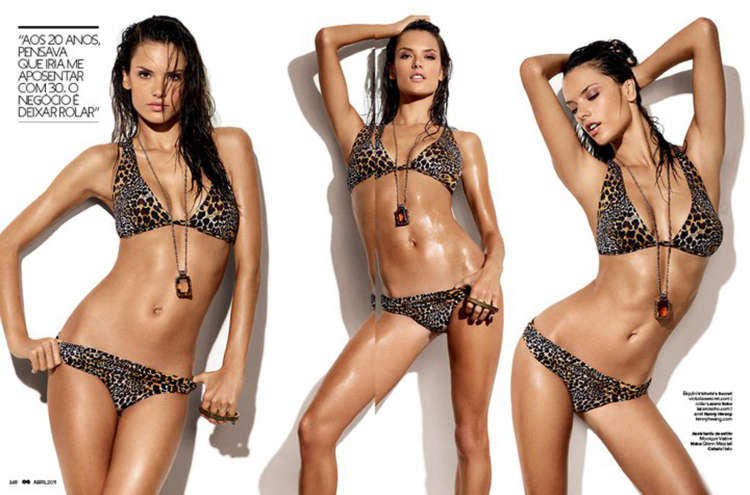 Alessandra Ambrosio is hot on GQ Brasil