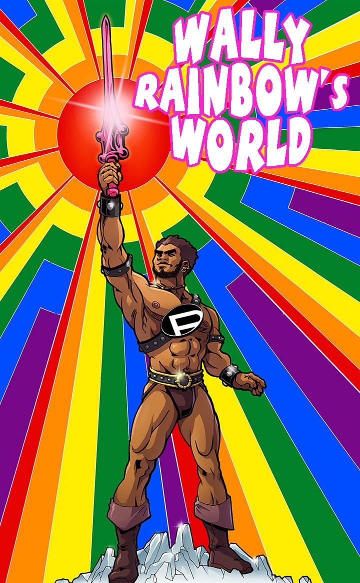 wally rainbow valeriano elfodiluce lightelf  fumetti gay comics blog ufficiale