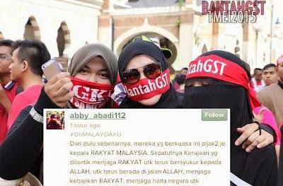 Kritikan Pedas Abby Abadi Buat Menteri Kerajaan Malaysia