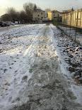passerella post-nevicata dic 2012