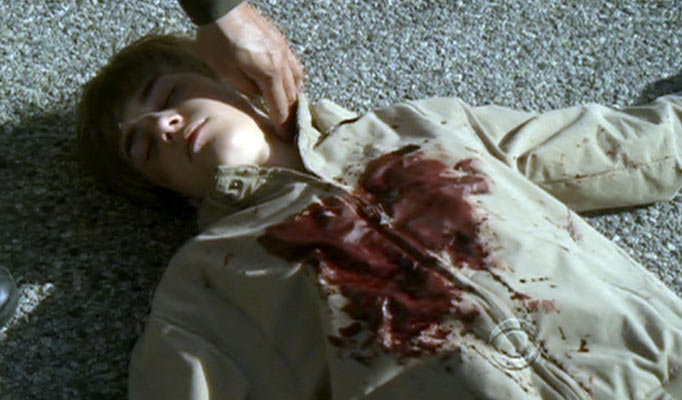 justin bieber shot in csi. Justin Bieber Gets Shot quot