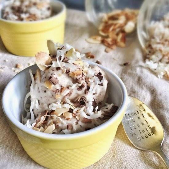 Picture of banana coco ice cream recipe