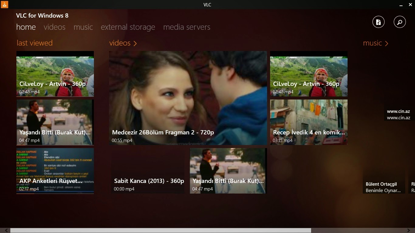 VLC Player For Windows 8